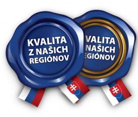 kvalita z naších regiónov slovenské